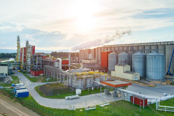 Renewable energy plant