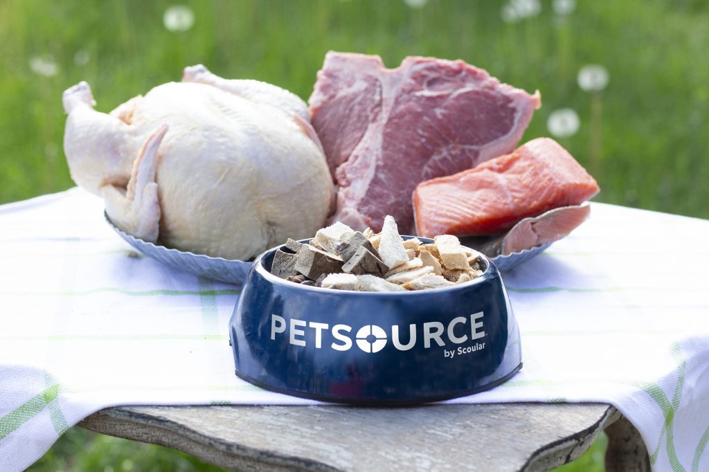 Petsource by Scoular freeze-dried ingredients