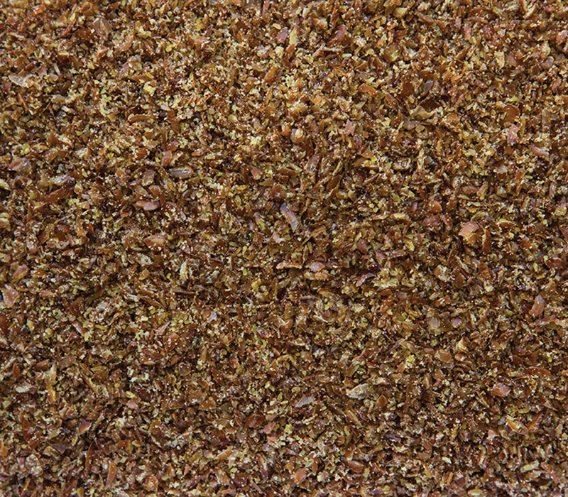 Milled brown flax seeds