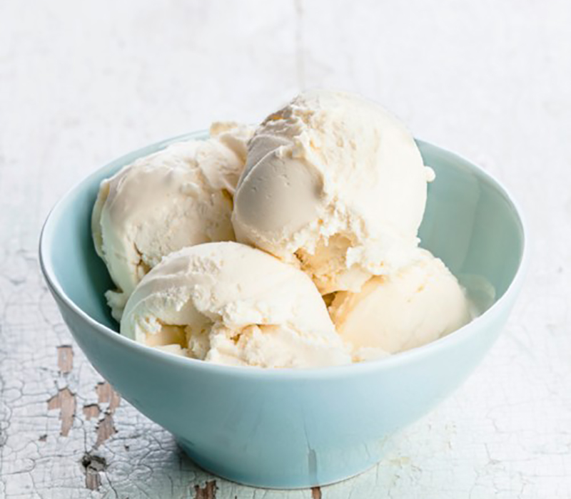 Ice cream that uses Maltodextrin as an ingredient.